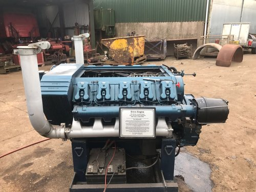 1960 V10 VM MOTORI DIESEL RUNNING DISPLAY ENGINE PX ROLLS MERLIN  For Sale (picture 1 of 5)