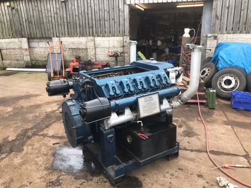 1960 V10 VM MOTORI DIESEL RUNNING DISPLAY ENGINE PX ROLLS MERLIN  For Sale (picture 2 of 5)