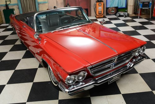 1964 Chrysler 300K Convertible / 625 Produced! For Sale (picture 1 of 6)