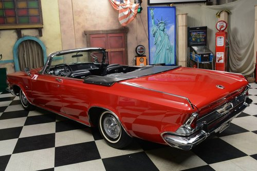 1964 Chrysler 300K Convertible / 625 Produced! For Sale (picture 2 of 6)