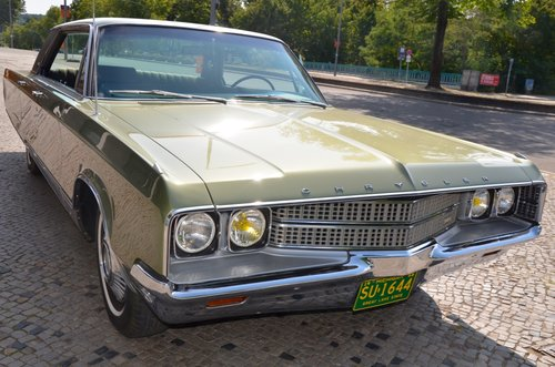 1968 CHRYSLER NEW YORKER  -  perfect original condition For Sale (picture 6 of 6)