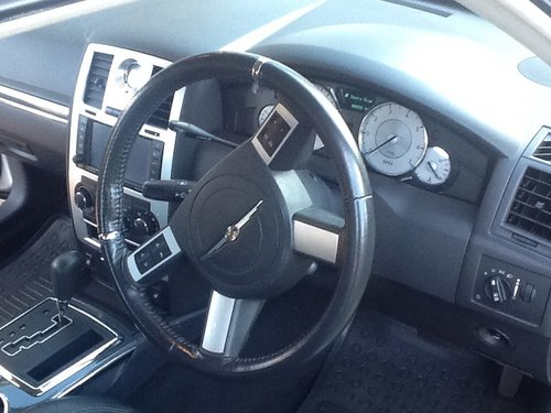 2008 Chrysler 300 SRT design 50k FSH stunning in silver For Sale (picture 5 of 6)