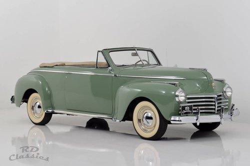 1941 Chrysler Windsor Convertible / Frame-Off Vollrestaurat For Sale (picture 1 of 6)