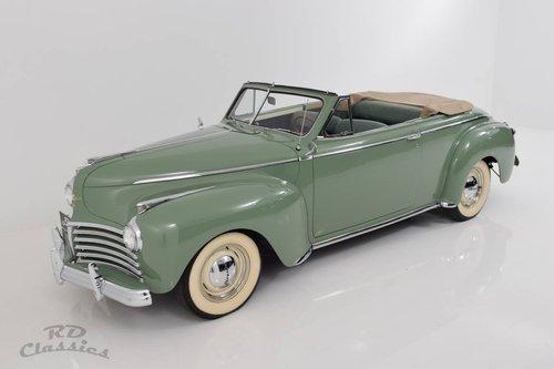 1941 Chrysler Windsor Convertible / Frame-Off Vollrestaurat For Sale (picture 3 of 6)