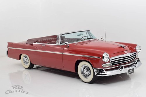 1956 Chrysler Windsor Convertible / Top Restauriert For Sale (picture 1 of 6)