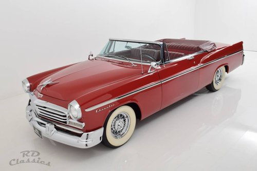 1956 Chrysler Windsor Convertible / Top Restauriert For Sale (picture 3 of 6)