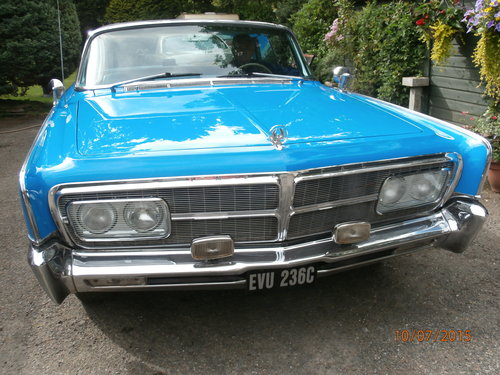 Chrysler Imperial Crown, 1965, 6750 cc automatic For Sale (picture 3 of 4)