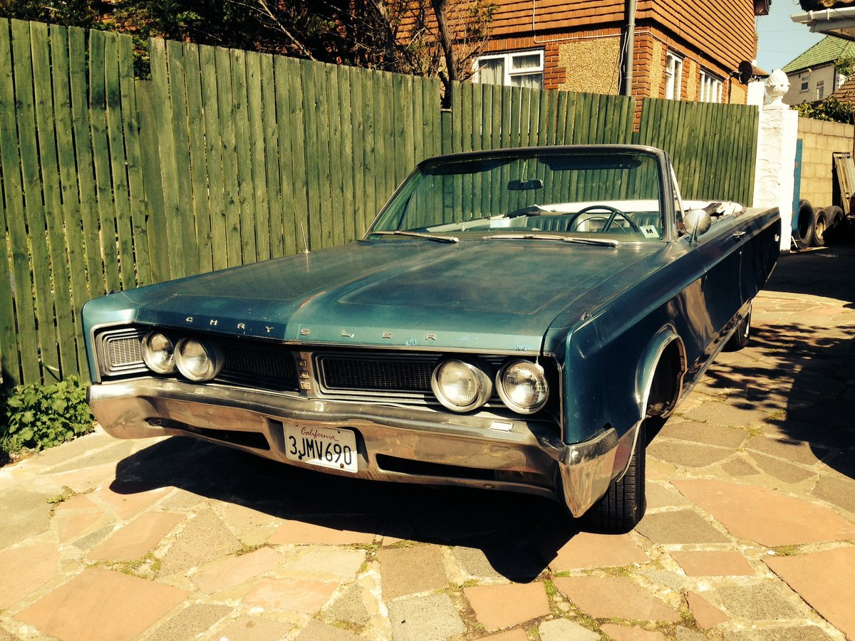 1967 Rare Chrysler 2 owner. For Sale (picture 1 of 4)