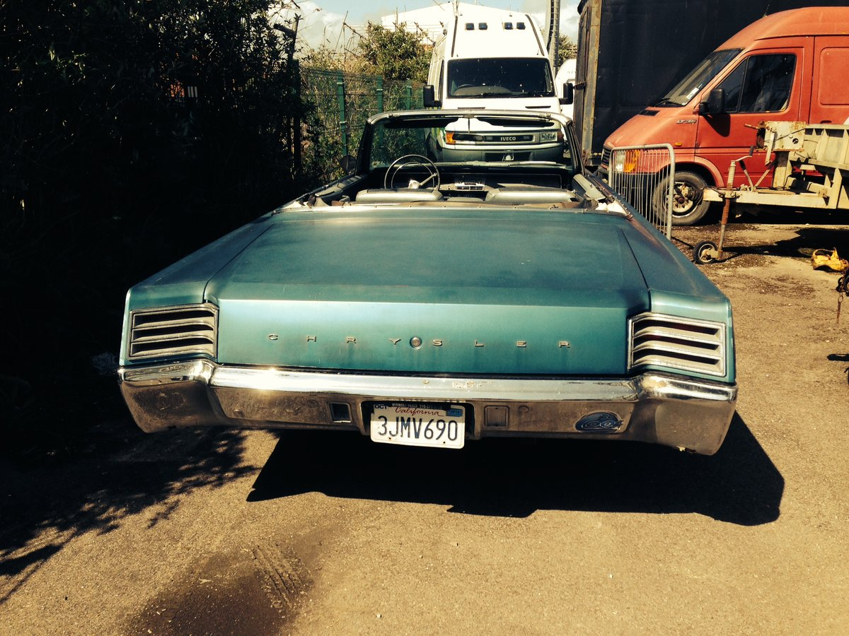 1967 Rare Chrysler 2 owner. For Sale (picture 4 of 4)