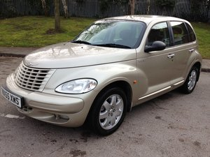 2005 CHRYSLER PT CRUISER TOURING CRD 81000 FSH MK1 SOLD
