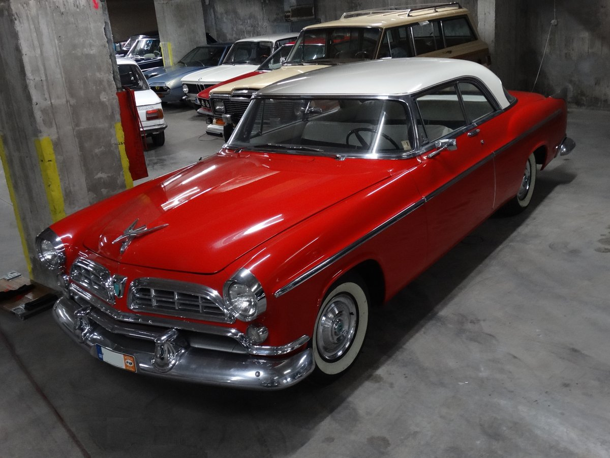 1955 Chrysler Windsor DeLuxe Nassau Coupe show condition For Sale (picture 1 of 6)