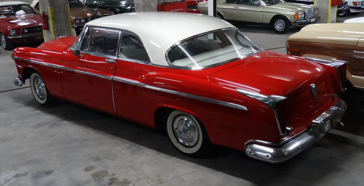 1955 Chrysler Windsor DeLuxe Nassau Coupe show condition For Sale (picture 2 of 6)