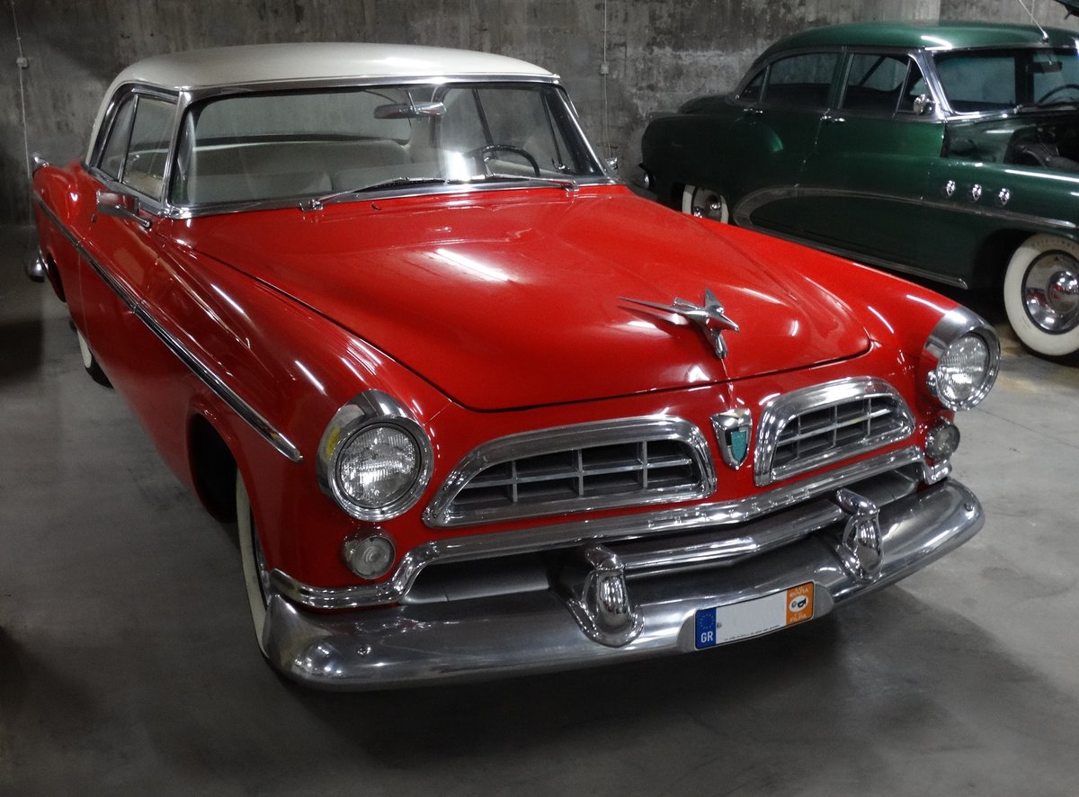 1955 Chrysler Windsor DeLuxe Nassau Coupe show condition For Sale (picture 3 of 6)