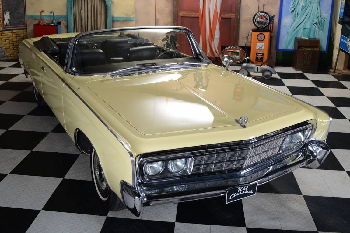 1966 Chrysler Imperial Cabrio Inkl. Deutsche Brief For Sale (picture 1 of 6)