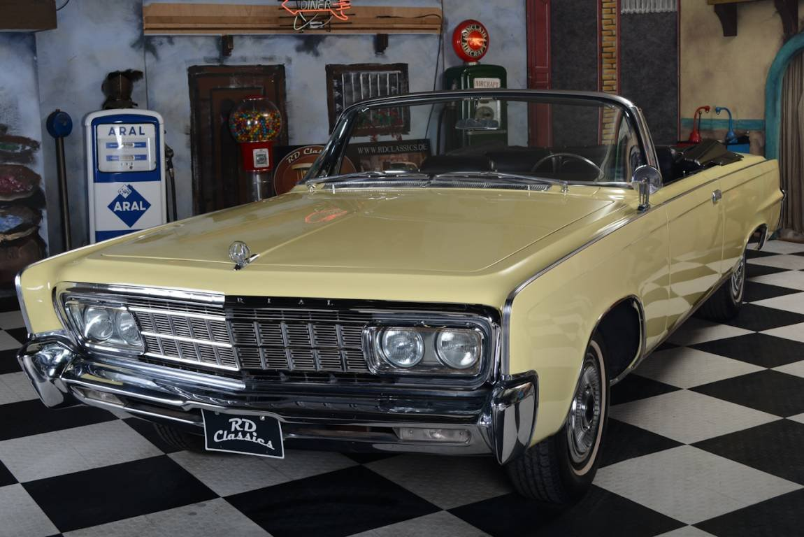 1966 Chrysler Imperial Cabrio Inkl. Deutsche Brief For Sale (picture 2 of 6)