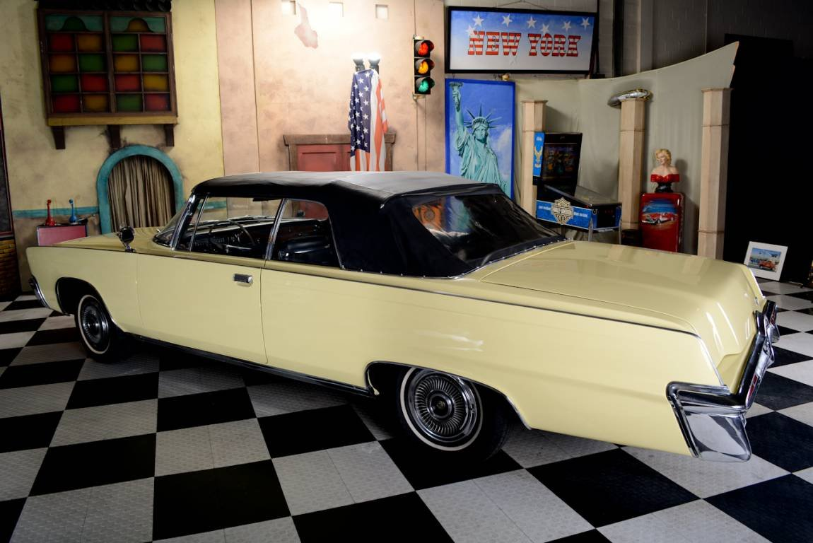 1966 Chrysler Imperial Cabrio Inkl. Deutsche Brief For Sale (picture 4 of 6)