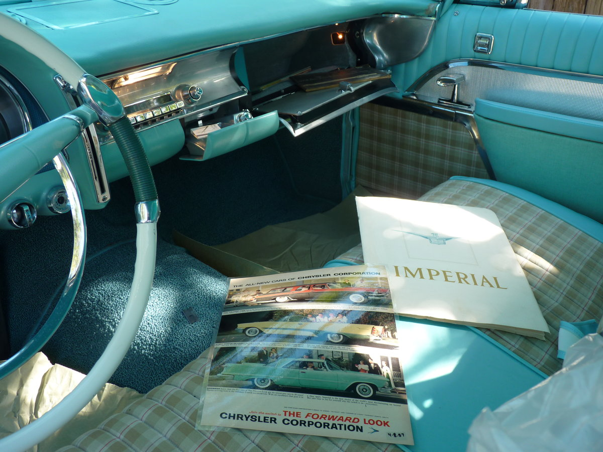 1957 Imperial Crown      Concours condition For Sale (picture 5 of 6)