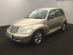 2002 CHRYSLER PT CRUISER LIMITED 2.2 CRD 40000 GENUINE MILES FSH SOLD