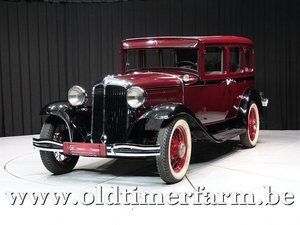 1931 Chrysler CM '31 For Sale