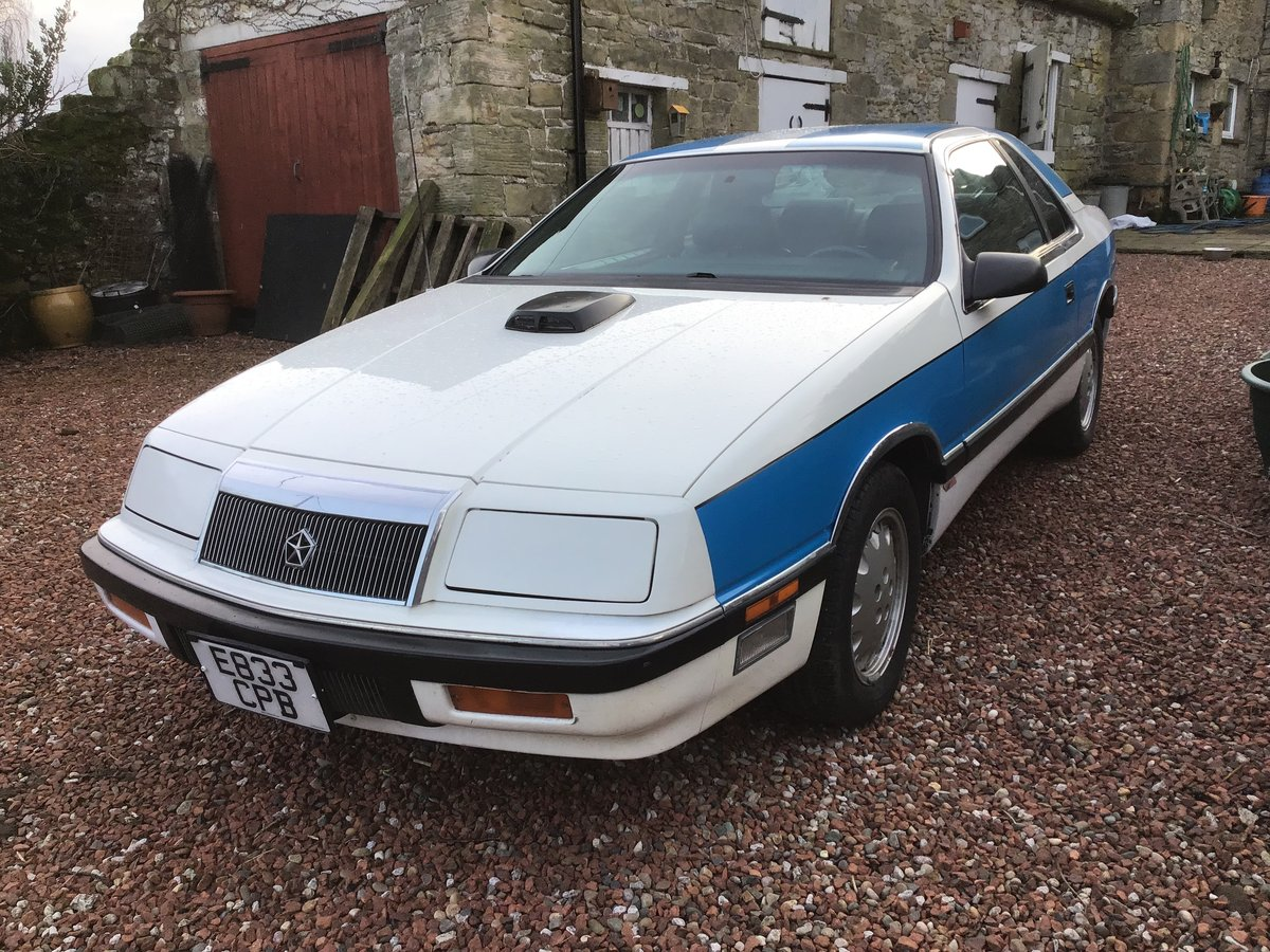 1988 Chrysler Lebaron for sale 1987 For Sale (picture 1 of 5)