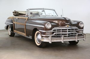 1949 Chrysler Town & Country Convertible For Sale