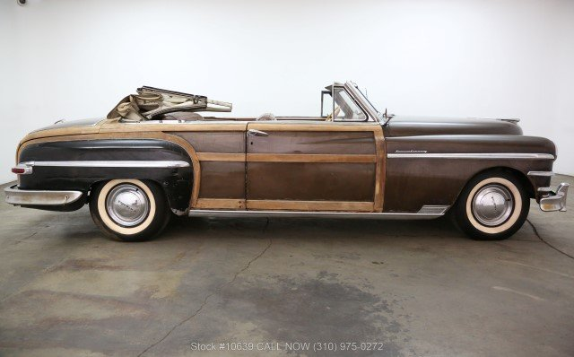1949 Chrysler Town & Country Convertible For Sale (picture 2 of 6)
