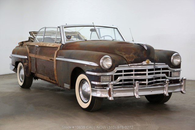 1949 Chrysler Town & Country Convertible For Sale (picture 1 of 6)