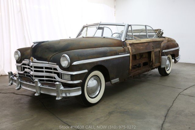 1949 Chrysler Town & Country Convertible For Sale (picture 3 of 6)