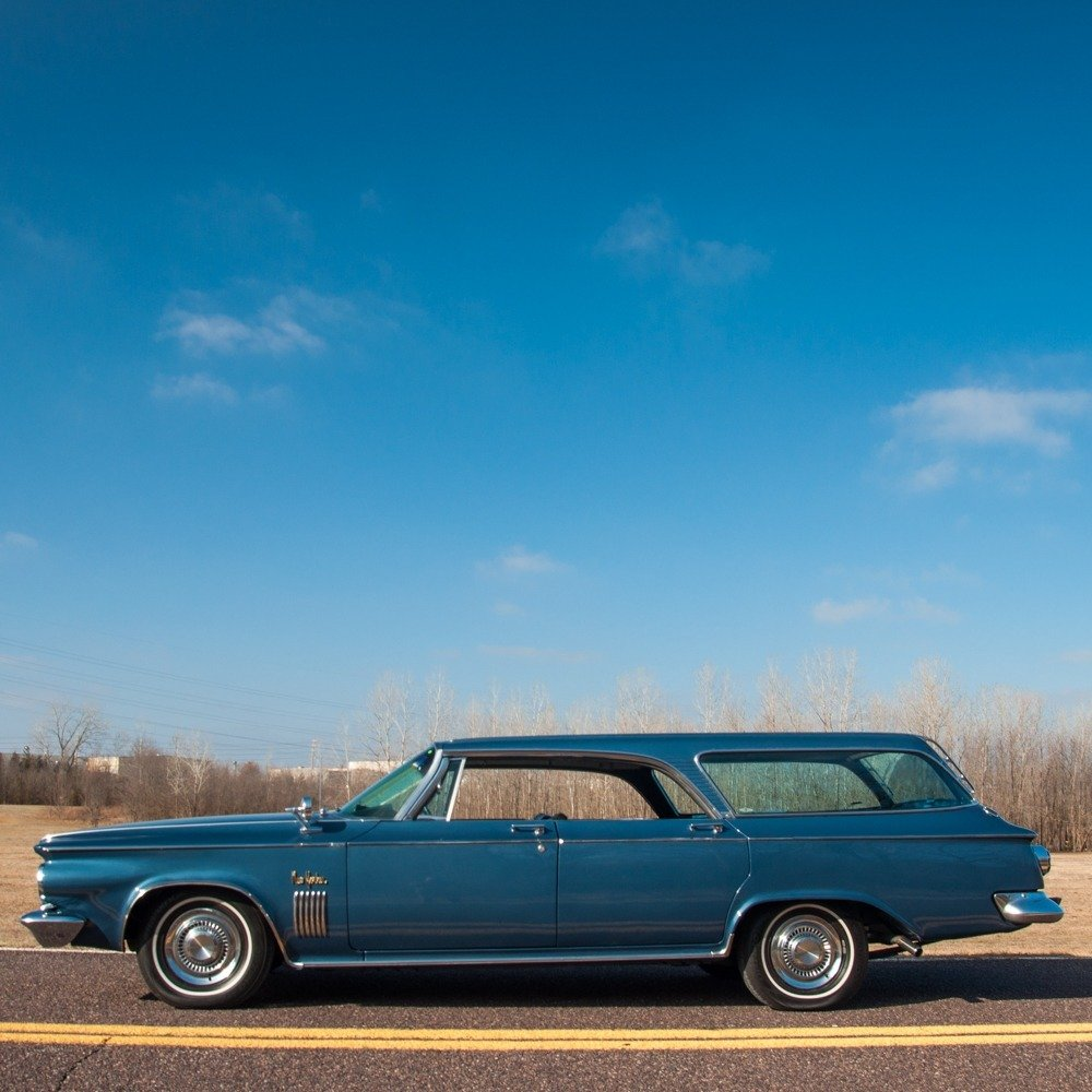 1963 Chrysler New Yorker Town & Country Hardtop Wagon Rare For Sale (picture 1 of 6)