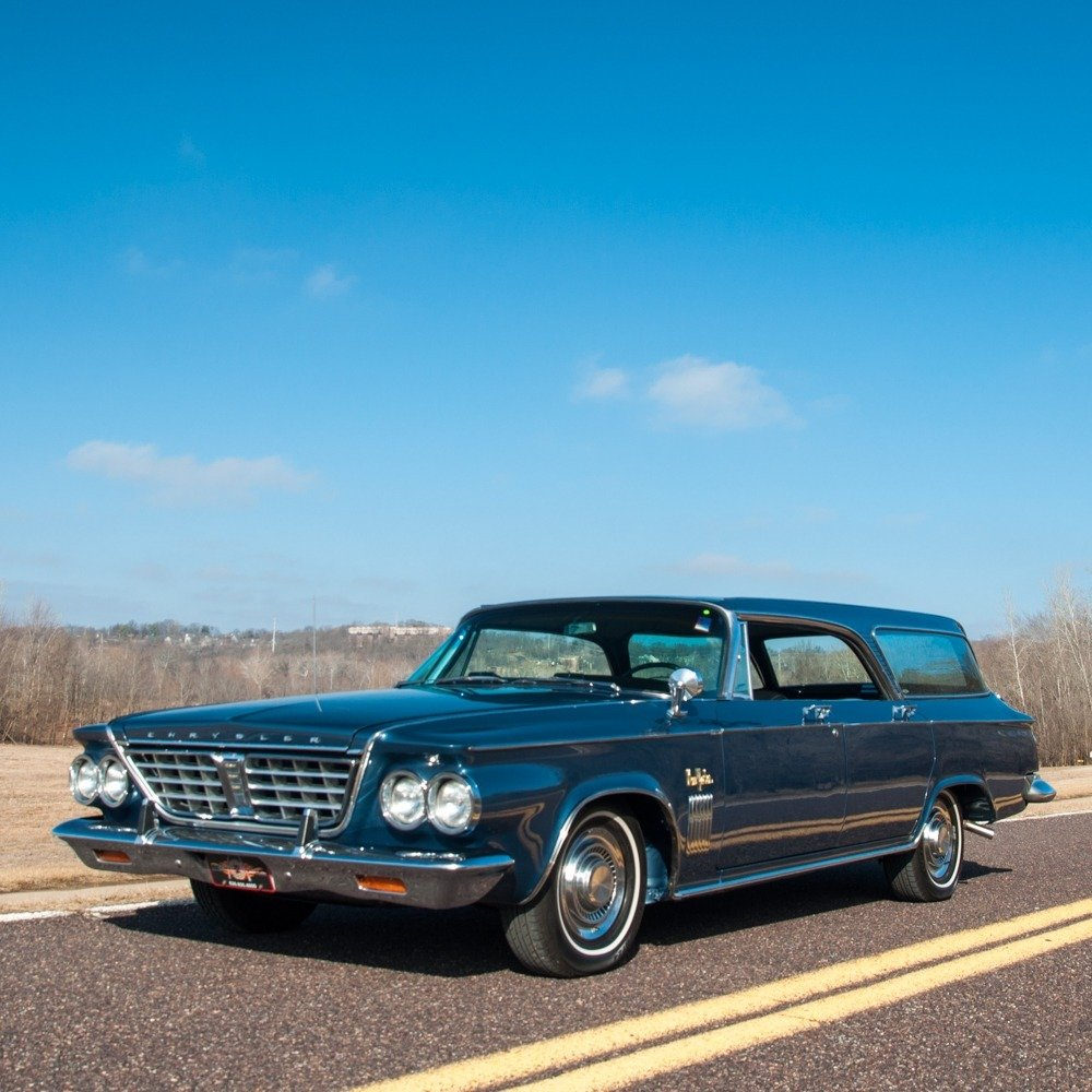 1963 Chrysler New Yorker Town & Country Hardtop Wagon Rare For Sale (picture 2 of 6)