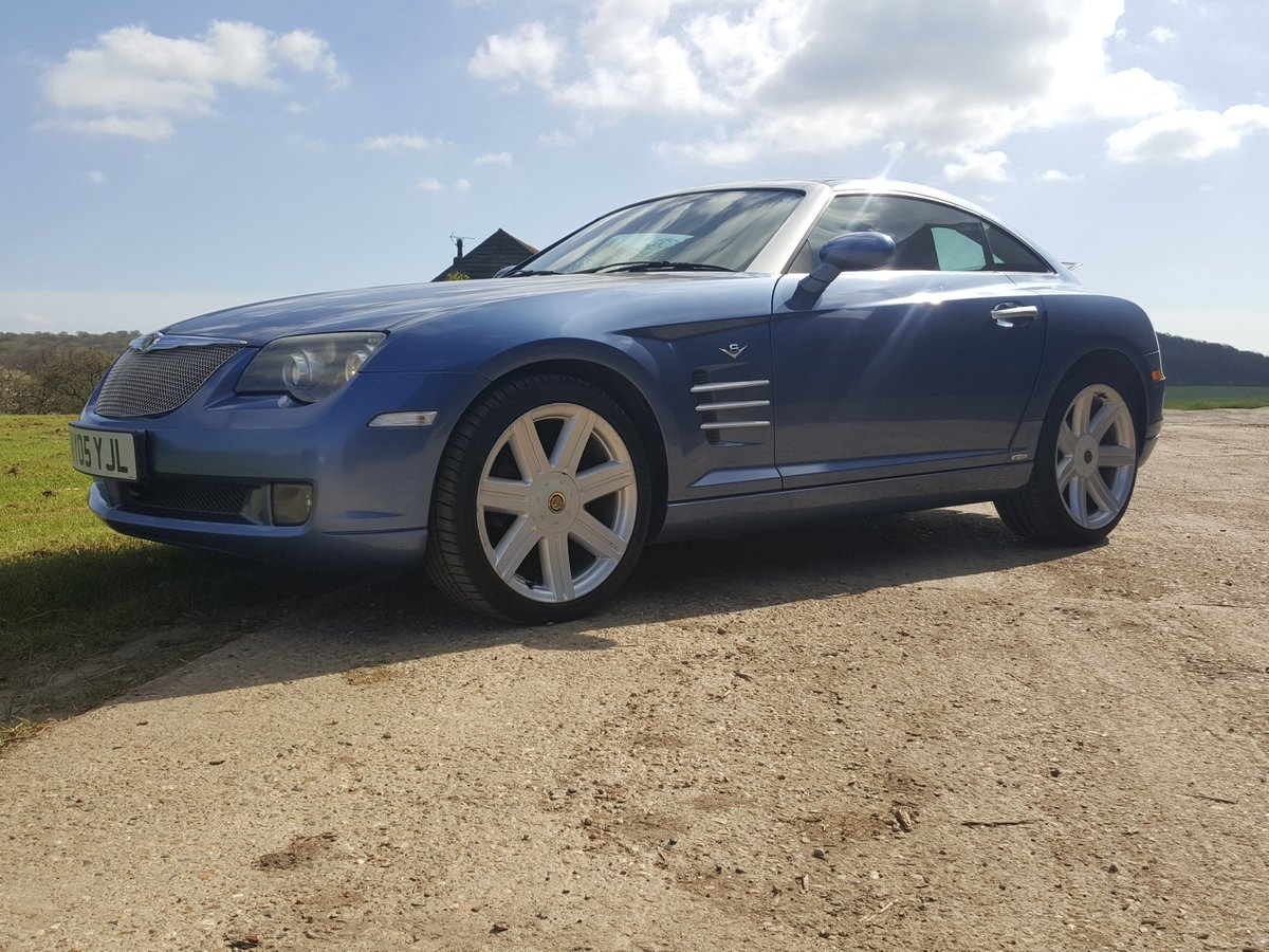 2005 Chrysler Crossfire Ltd Coupe Auto Low miles lovely condition For Sale (picture 1 of 6)