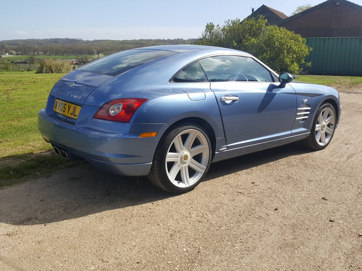 2005 Chrysler Crossfire Ltd Coupe Auto Low miles lovely condition For Sale (picture 2 of 6)