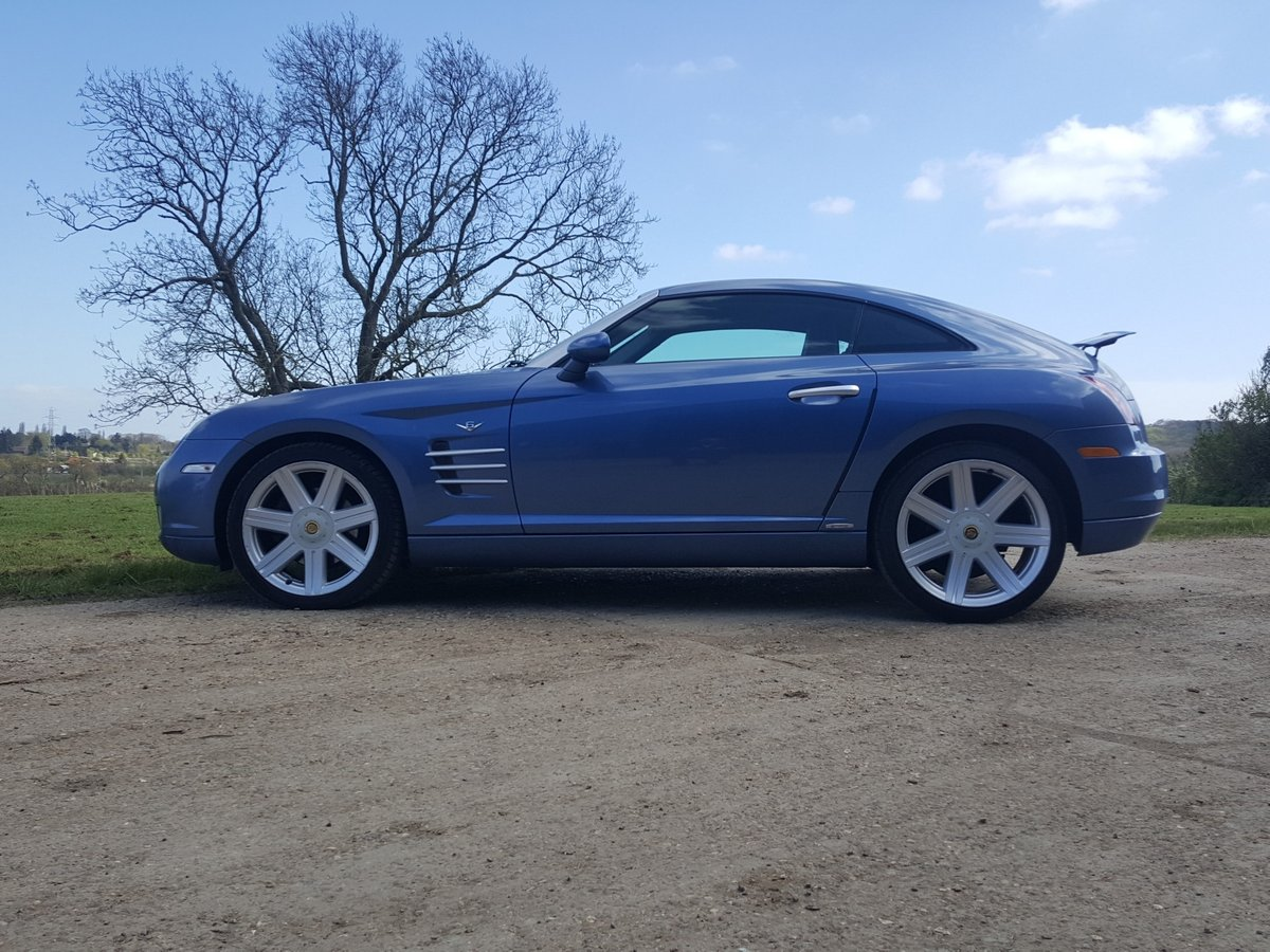2005 Chrysler Crossfire Ltd Coupe Auto Low miles lovely condition For Sale (picture 3 of 6)