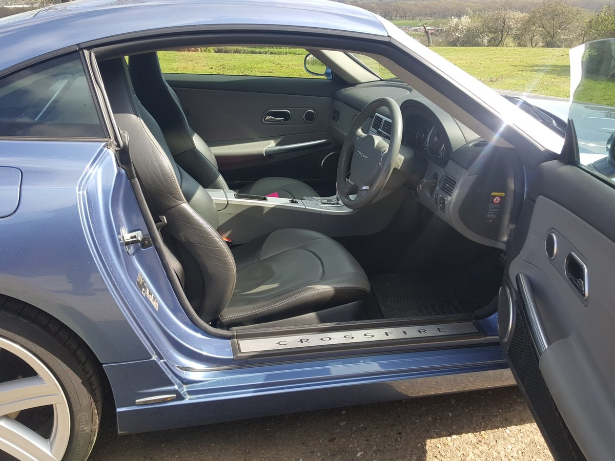 2005 Chrysler Crossfire Ltd Coupe Auto Low miles lovely condition For Sale (picture 4 of 6)