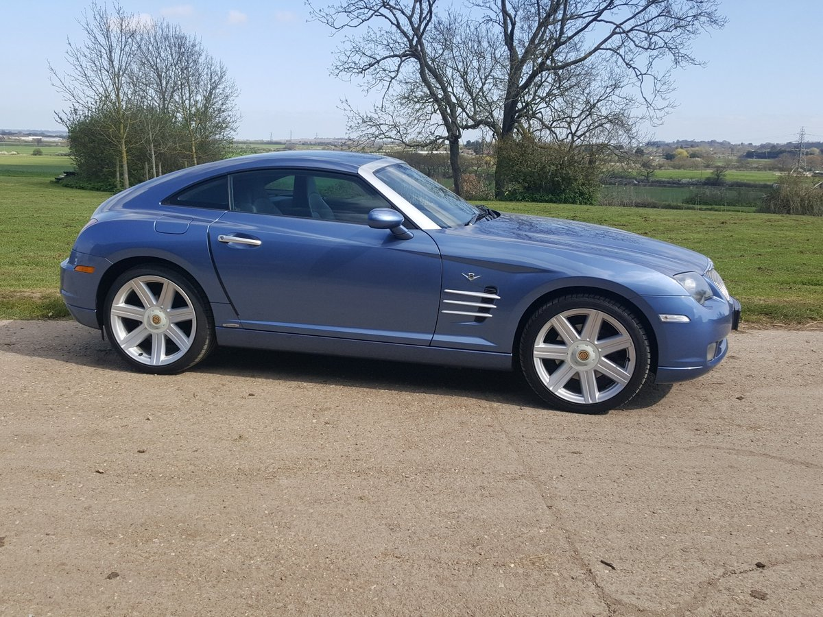 2005 Chrysler Crossfire Ltd Coupe Auto Low miles lovely condition For Sale (picture 6 of 6)