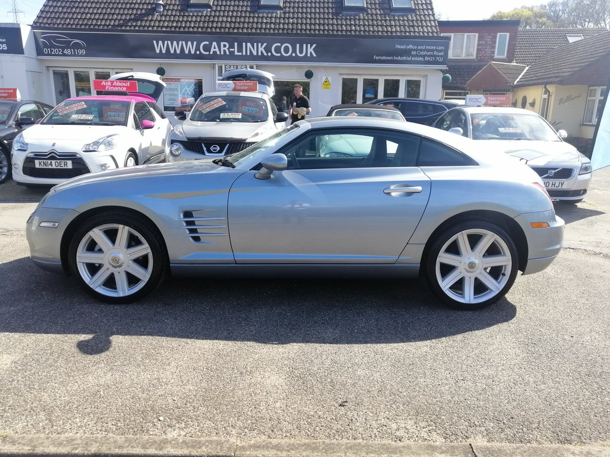 2004 Stunning Chrysler Crossfire Coupe For Sale (picture 3 of 6)