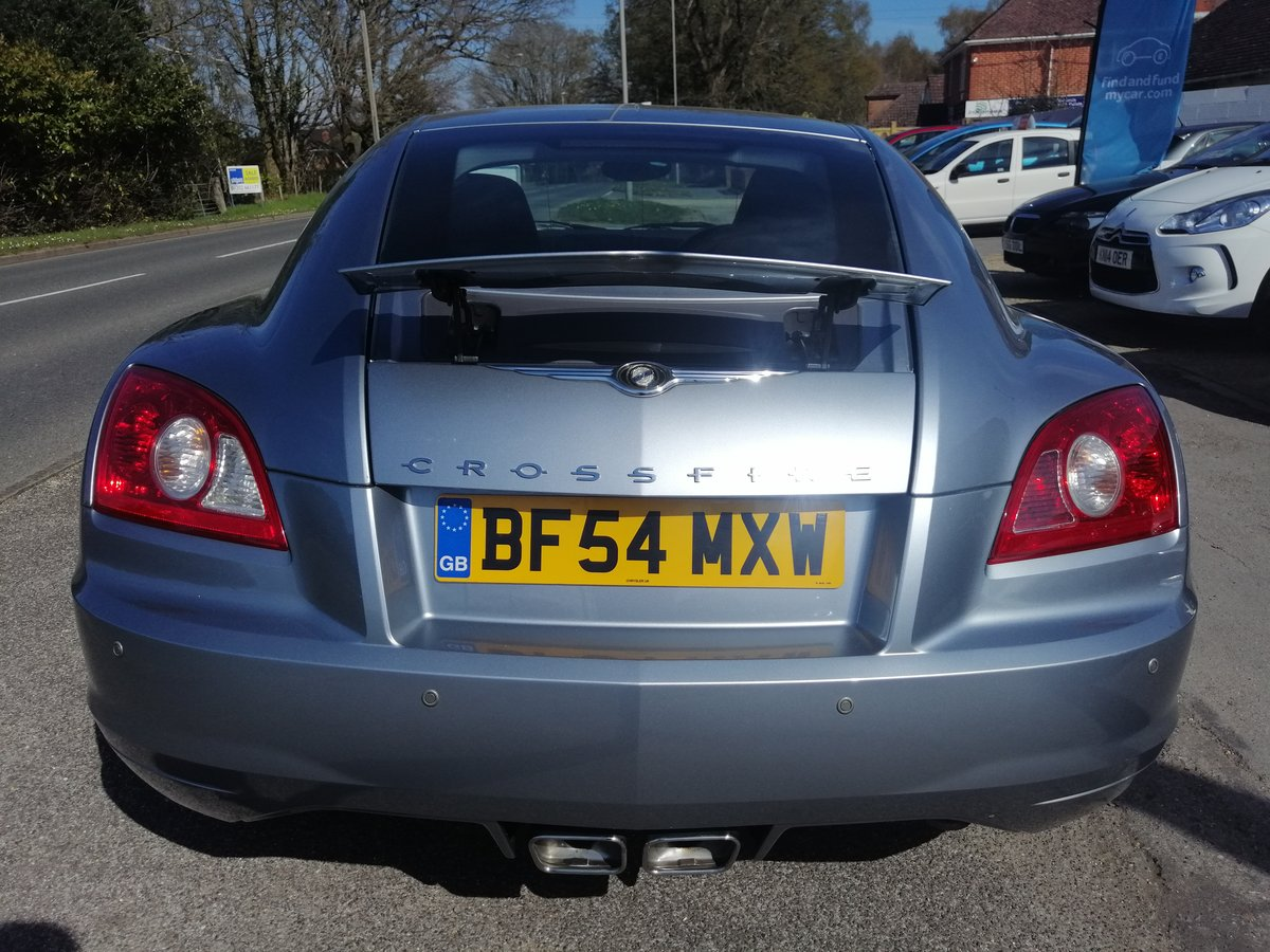 2004 Stunning Chrysler Crossfire Coupe For Sale (picture 5 of 6)