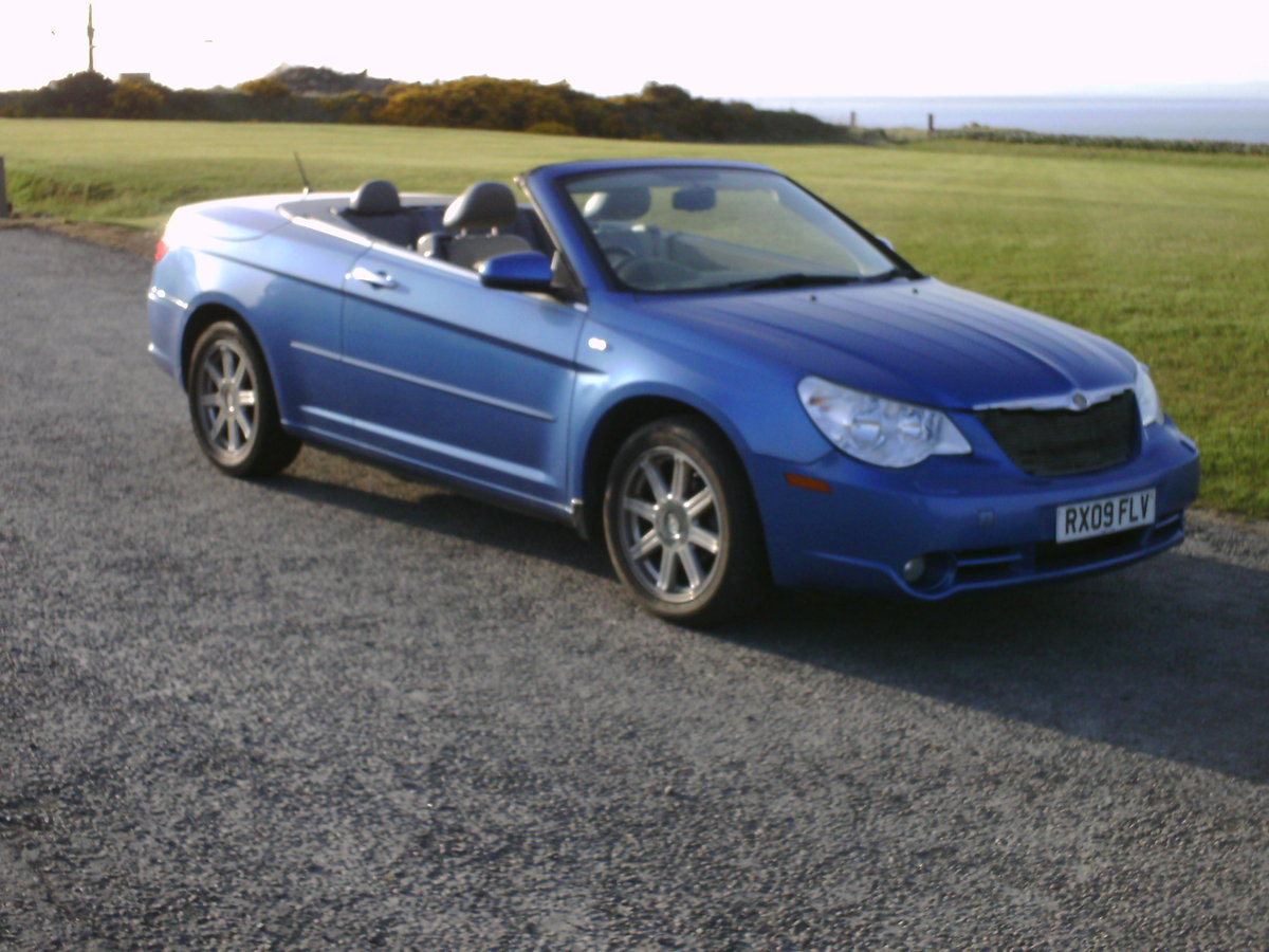 2009 Chrysler Sebring convertible coupe For Sale (picture 1 of 6)