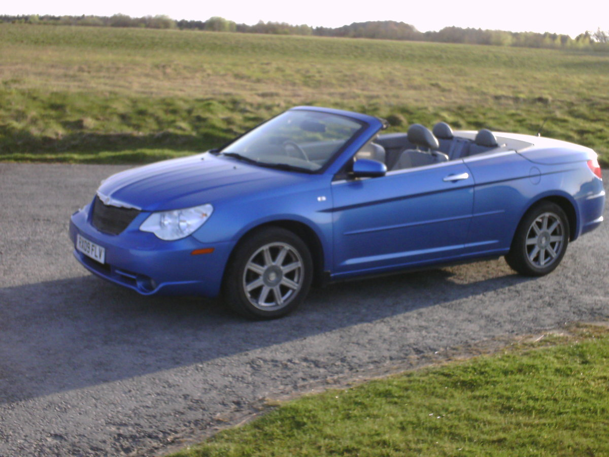 2009 Chrysler Sebring convertible coupe For Sale (picture 2 of 6)