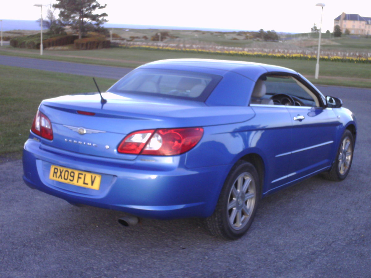 2009 Chrysler Sebring convertible coupe For Sale (picture 3 of 6)