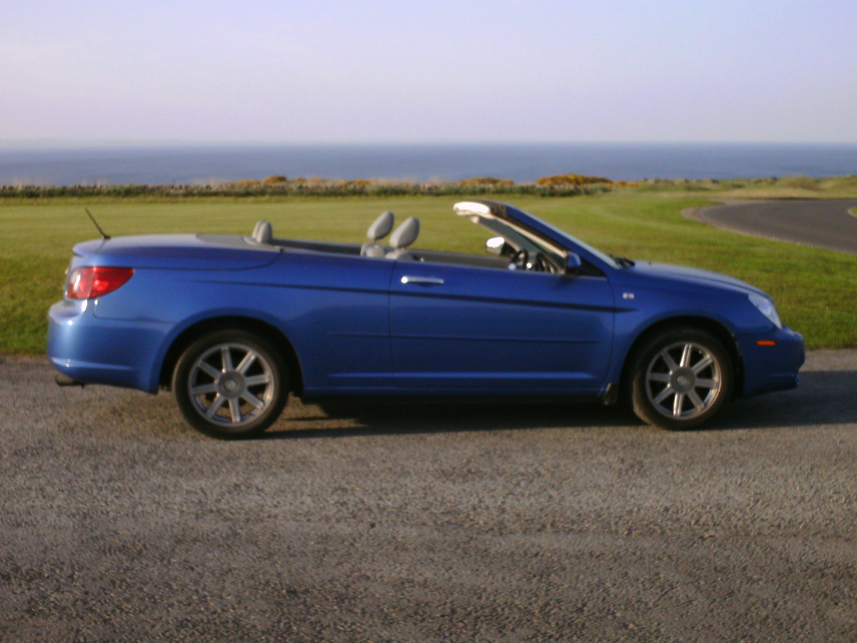 2009 Chrysler Sebring convertible coupe For Sale (picture 5 of 6)