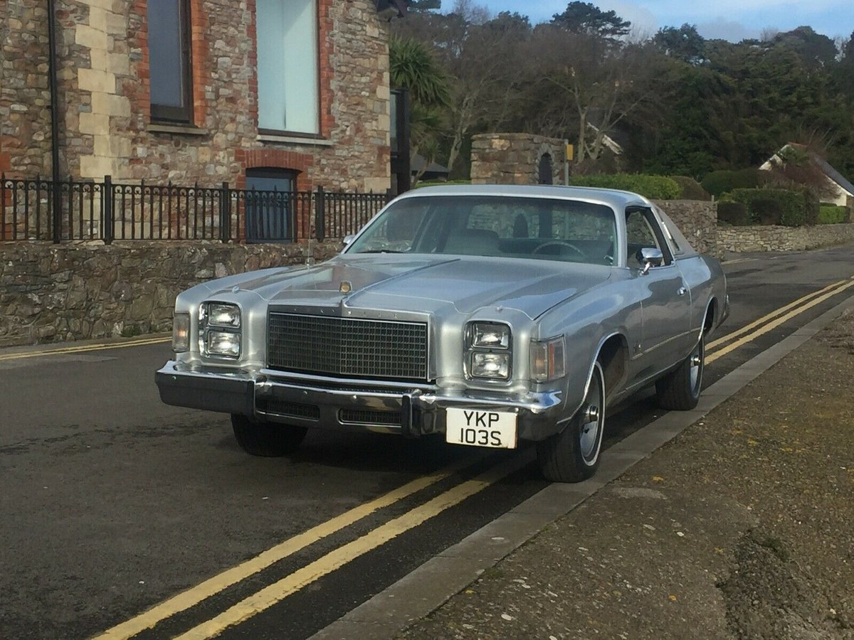 Chrysler For Sale >> 1978 Chrysler Cordoba For Sale Car And Classic