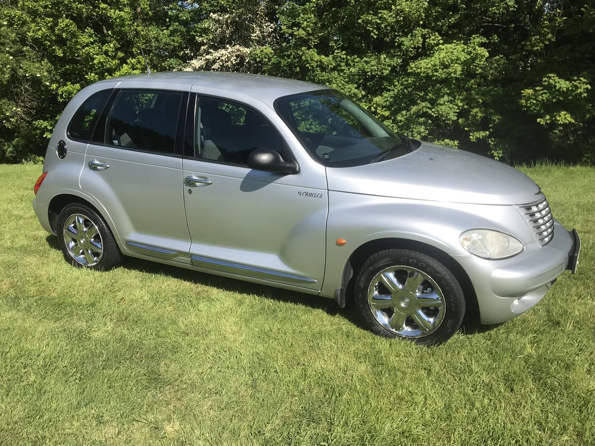 2004 PT CRUISER ONLY 42000 MILES FROM NEW AND 1 OWNER For Sale (picture 1 of 6)