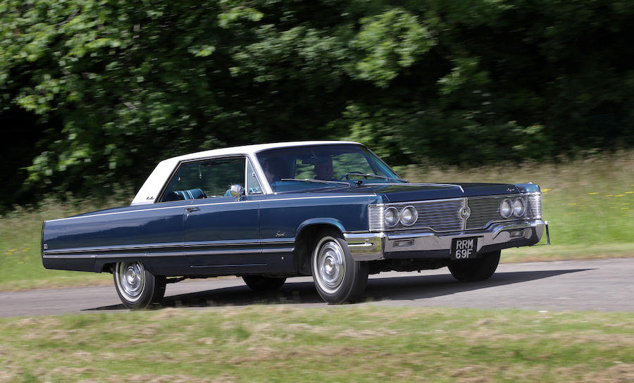 Rare 1968 Chrysler Imperial Coupe~Mobile Director SOLD (picture 4 of 6)