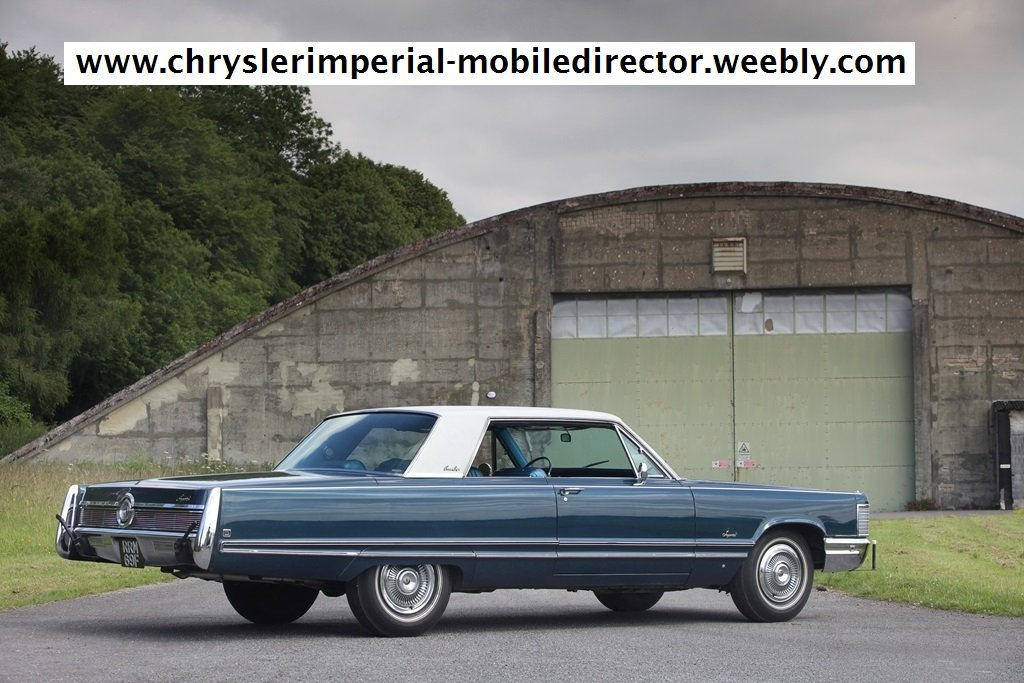 Rare 1968 Chrysler Imperial Coupe~Mobile Director SOLD (picture 6 of 6)