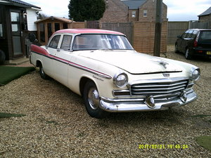 Chrysler Windsor 4 Door 1956