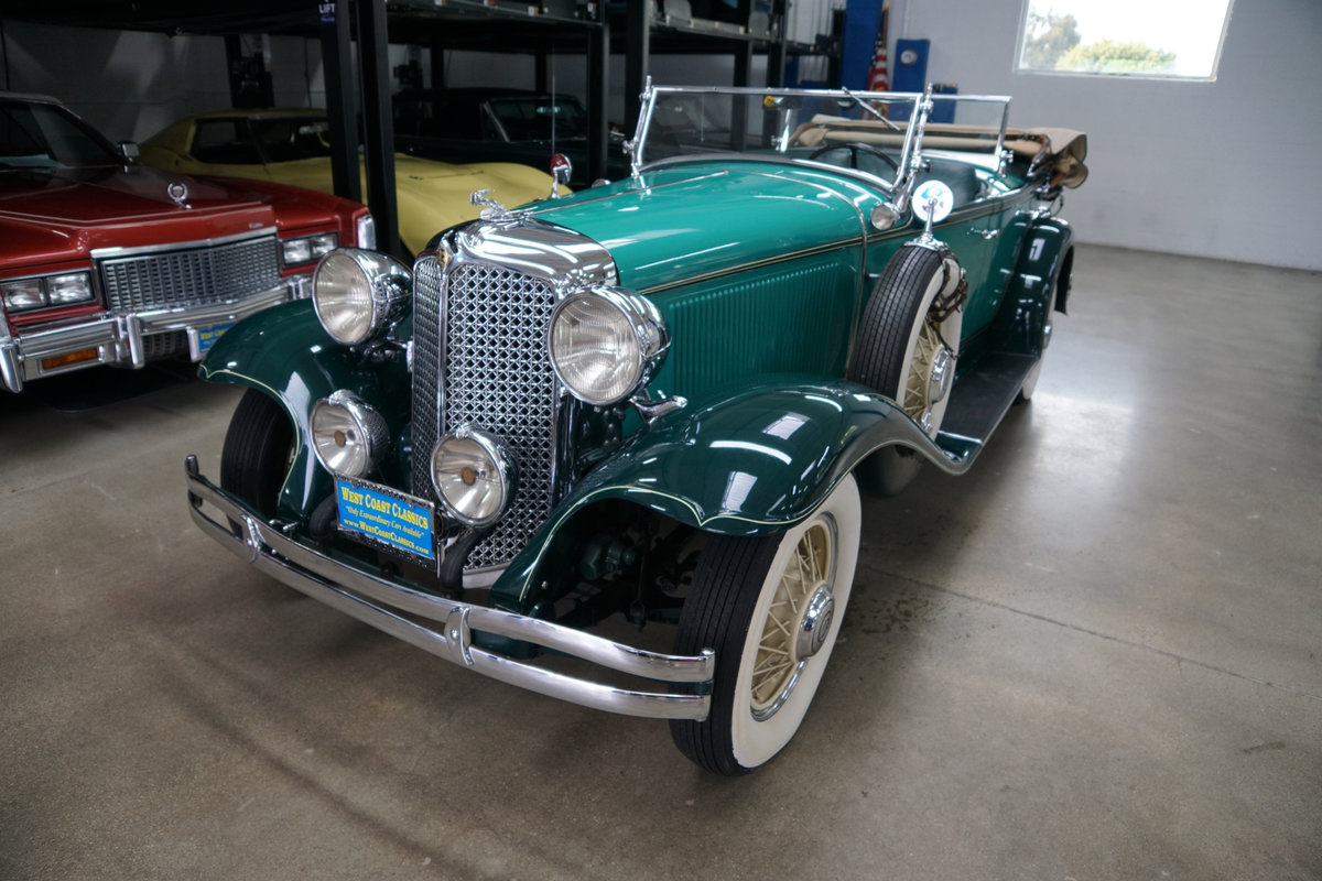1931 Chrysler CD Dual Cowl Phaeton AACA 1st Place Winner For Sale (picture 1 of 6)