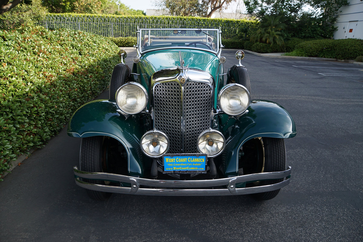 1931 Chrysler CD Dual Cowl Phaeton AACA 1st Place Winner For Sale (picture 4 of 6)