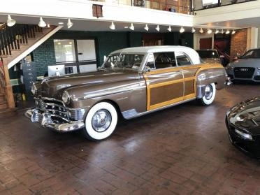 1950 Town & Country Newport = Woodie Clean Driver $34.9k For Sale