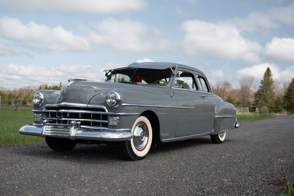 1950 Chrysler Royal 2DR Club Coupe For Sale (picture 1 of 6)